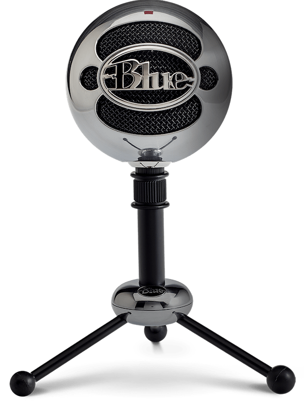 Blue Snowball USB Microphone - 7 Best USB Microphones in India (2021) – Review & Comparison