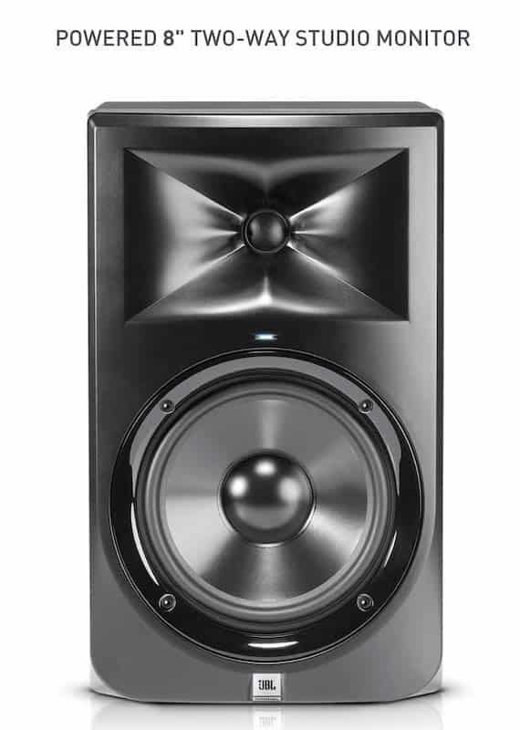 JBL Professional 308PMKII Studio Monitor - 9 Best Studio Monitors in India (2020)