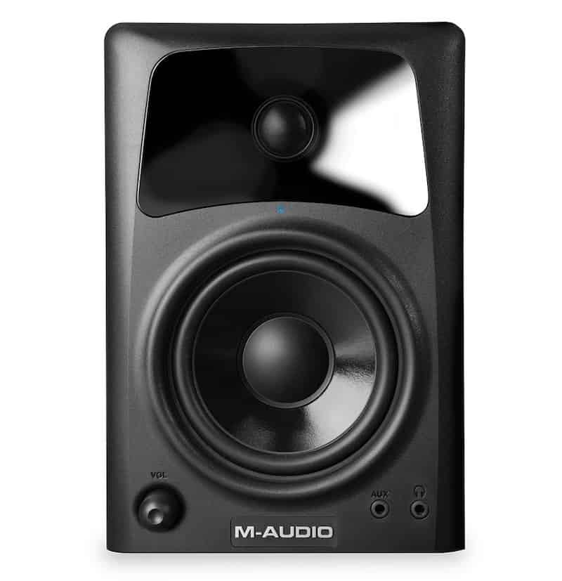 M Audio AV42 Speaker Front - 9 Best Studio Monitors in India (2020)