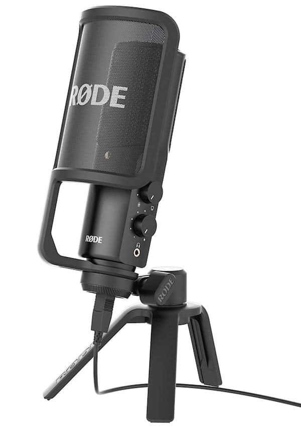 Rode NT USB Microphone - 7 Best USB Microphones in India (2021) – Review & Comparison