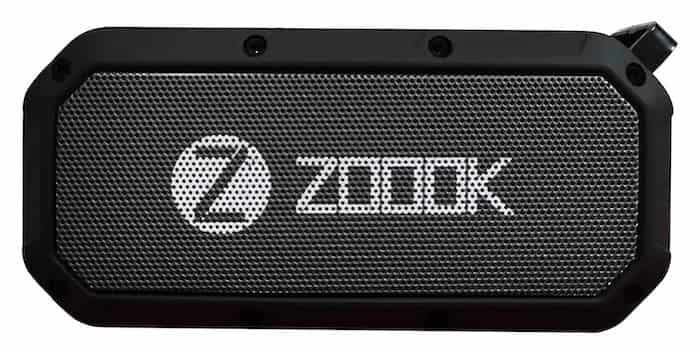 Zoook Bass Warrior Portable Bluetooth Speaker - 9 Best Budget Bluetooth Speakers in India - Buying Guide (2020)